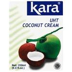 Вершки Kara кокосові 24% 200мл