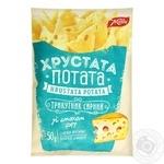 Снеки фігурні Жайвір Трикутник сирний зі смаком сиру 50г
