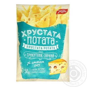 Zhayvir Khrustata potata with cheese snack 50g