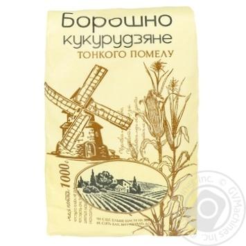 Мука Август кукурузная 1к - купить, цены на Фуршет - фото 1