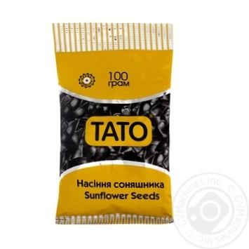 Семечки ТАТО подсолнечника черное 100г