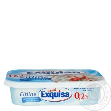 Сыр Exguisa Fitline сливочный 0,2% 200г