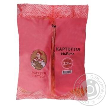 Картофель Ваши Овощи отборная 2.5кг