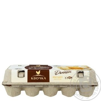 Kvochka selected chicken eggs C0 10pcs - buy, prices for Novus - image 4