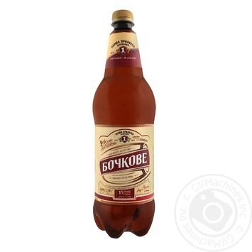 Пиво ППБ Бочковое светоле 4,8% 1,15л