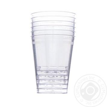 Набор стаканов Пласт Групп одноразовых 50мл 6шт - купить, цены на Фуршет - фото 1