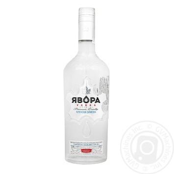 Yavora Klenova zimova Vodka 40% 0,5l - buy, prices for Furshet - image 1