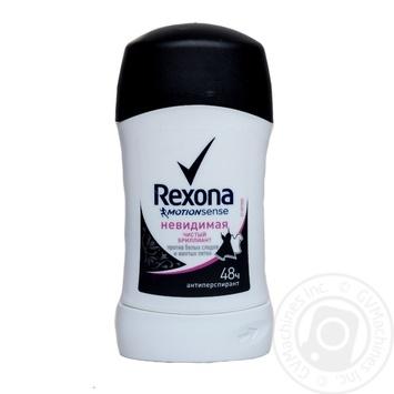 Rexona Motionsense Антиперспирант Чистый бриллиант 40мл