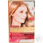 Color L'oreal Excellence light light brown for hair