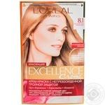 Крем-краска для волос L'Oreal Excellence Creme 8.1 светло-русый пепельный