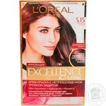 Крем-фарба для волосся L'Oreal Excellence Creme 5.15 Морозний каштан