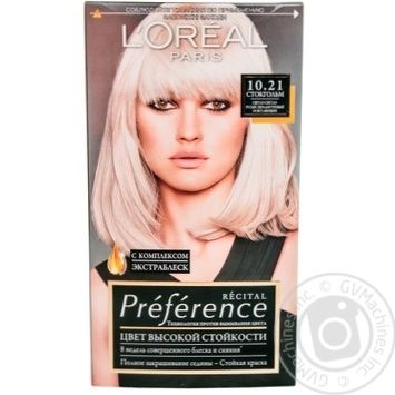 L'oreal Recital Preference №10.21 Hair Dye