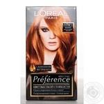 Краска для волос L'Oreal Recital Preference 74 Манго интенсивный медный