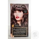 Краска для волос L'Oreal Paris Preference 4.12 шт