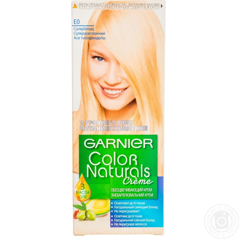 Garnier Color Naturals E0 Hair Dye → Hygiene → Hair care → Hair ...