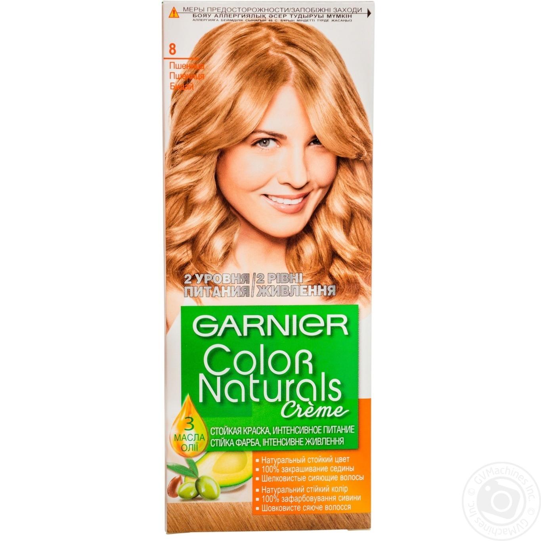 Краска для волос Garnier Color Naturals №8 → Гигиена → Уход за ... bb6825094c90b