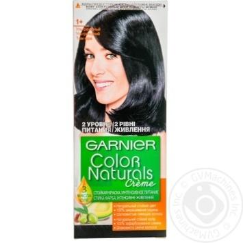 Color Garnier Color naturals black for hair