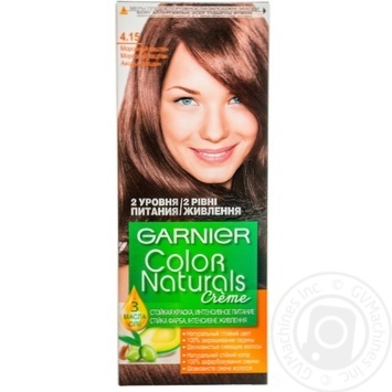 Cream-paint Garnier Color naturals frosty chestnut for hair