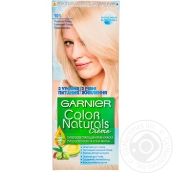 Cream-paint Garnier Color naturals icy blonde for hair