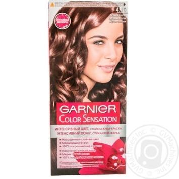 Крем-краска для волос Garnier Color Sensation №4.15 Ледяной каштан