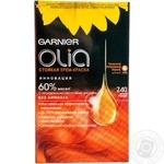 Фарба для волосся Olia тон 7.40 рудий Garnier