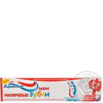Зубная паста Aquafresh Мои молочные зубки 50мл