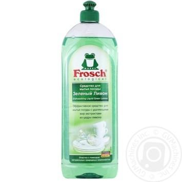 Бальзам для мытья посуды Frosh Зеленый лемон 1л - купить, цены на Метро - фото 1