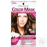 Color Schwarzkopf Color mask golden chestnut for hair Germany