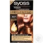 Краска для волос Syoss Oleo Intense без аммиака 6-80 золотистый русый
