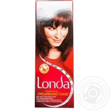 Крем-краска для волос Londa Технология смешивания тонов №44 Светло-каштановый