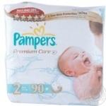Подгузники детские Pampers Premium Care Mini 3-6 кг Джамбо 90шт