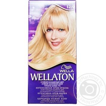 Краска для волос Wellaton №12/0 светлый натуральный блондин 1шт