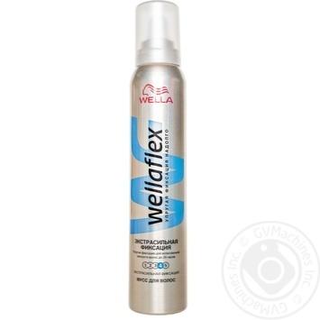 Пена Веллафлекс экстра сильная фиксация для волос 200мл