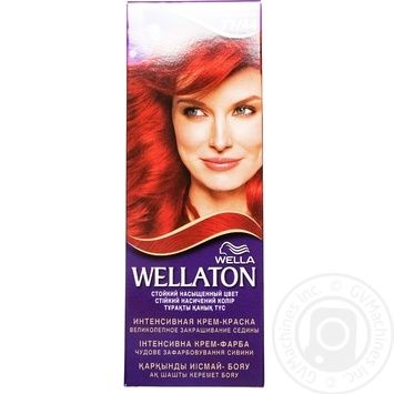 Color Wellaton red volcano for red 50ml