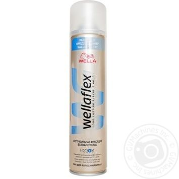 Лак Wellaflex Экстра сильная фиксация для волос 400мл