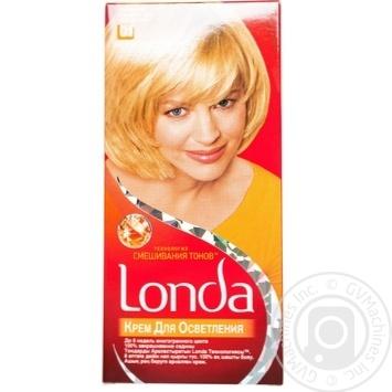 Крем для освітлення волосся Londa Технологія змішування тонів №01 Сонячний блондин - купити, ціни на Novus - фото 1