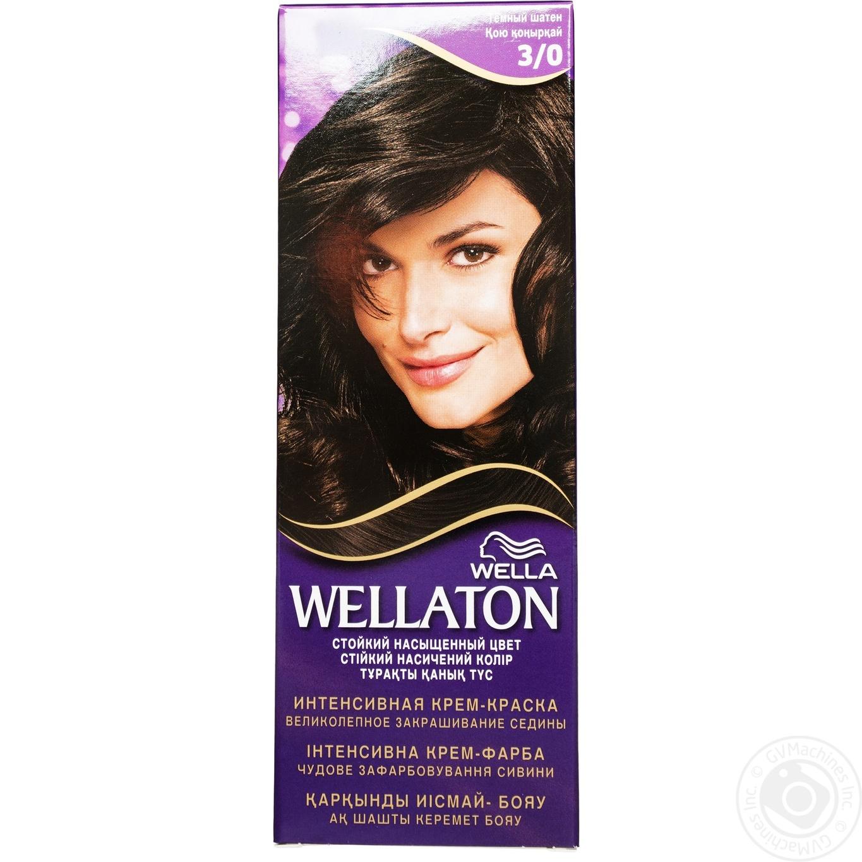 Color Wellaton Dark Brown For Hair Hygiene Hair Care Hair