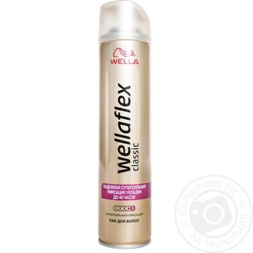 Wellaflex Classic Super Strong Hold Hair Fixation Spray 250ml