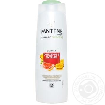 Шампунь Pantene Очищение и питание 400мл - купить, цены на Фуршет - фото 4