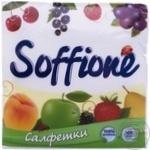 Салфетки Soffione 33*33 100шт
