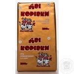 Spread sweet cream 72.5% Dvi Korovki Halychyna 200g
