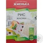 Рис Жменька жасмин длиннозерный шлифованный в пакетиках 400г Украина