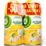 Балон запасний для стартового набору Лимон і Женьшень Airwick 2 од.*250мл -50 % на другу одиницю