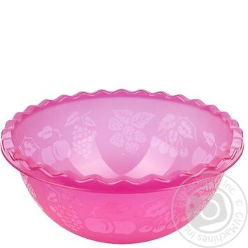 Таз Ал-Пластик №1 для фруктов 3.5л