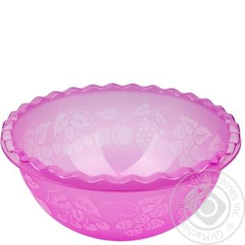 Таз Ал-Пластик №2 для фруктов 6л - купить, цены на Метро - фото 1
