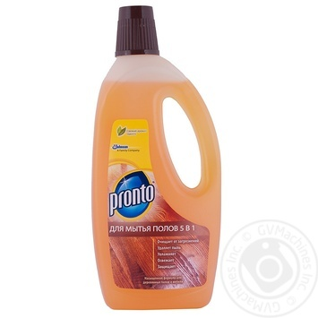 Средство Pronto Классик для мытья деревянных полов 750мл