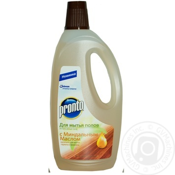 Засіб Pronto Інтенсивний догляд з мигдальною олією для миття підлоги 750мл