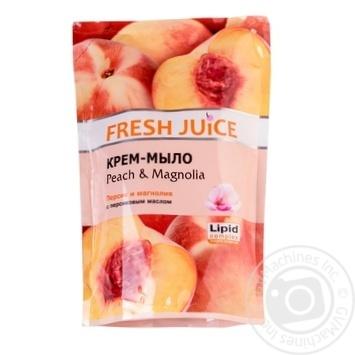 Мило рідке Fresh juice персик і магнолія дой-пак 460мл