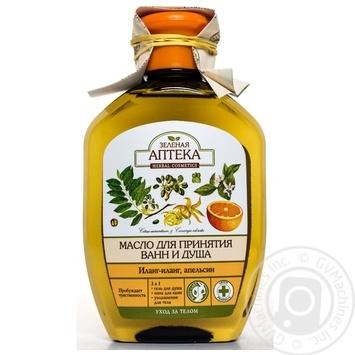 Масло для ванны Зеленая Аптека Иланг-иланг апельсин 250мл