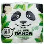 Бумага туалетная Снежная панда 8шт